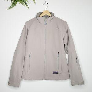 Patagonia Lightweight Zip Up High Neck Jacket Gray